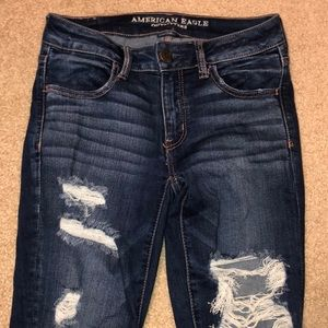 American Eagle Jeans W/ Holes